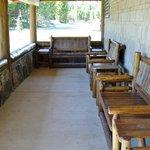 Dunraven Lodge Front Porch