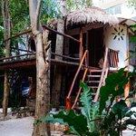 the cabana!