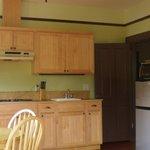 "The ""Victoria Suite"" kitchen"