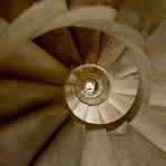 Sagrada Familia - spiral staircase