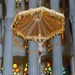 Sagrada Familia - ciborium