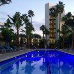 Oasis Pool - at dusk