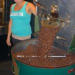 Fresh from the roaster