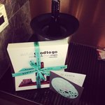 Complimentary from Ovolo! So sweet!