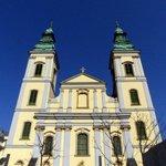 Inner-City Parish Church in Budapest