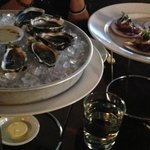 yummy fresh oysters and scallops!