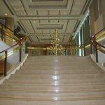 stairway in lobby