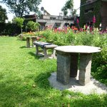 A great area to sit outside, relax and enjoy the scenery