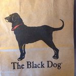 The shopping bag from the store