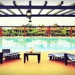 The über-cool pool at Vijayshree