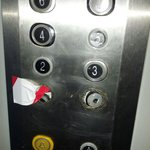 Lift buttons Broken for 5 days March 2014