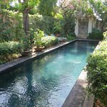 Private pool in Temple Lodge