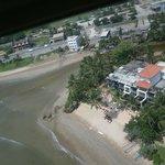 la bay de coco bay en helico