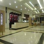 Eingangsbereich des Hotels