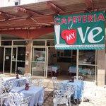 bienvenidos a cafetería My Love
