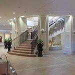 Lobby im Untergeschoss