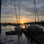 Dawn at Great Escape Yacht Charters Opua