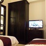 room had 2 flat screen TVs
