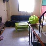 Sala do segundo andar - bagunçada e suja