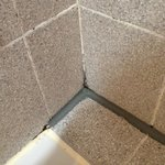 Dirty and repaired grouting