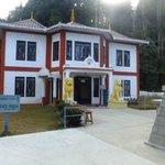 Peace  pagoda premises