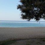 Пляж в 7 утра