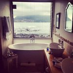 The bathroom in the Madura suite