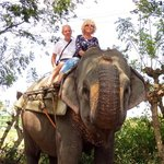 We loved our elephant ride!