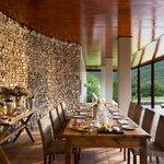 Kwandwe Melton Manor dining on the terrace