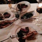 T-Bone Steak mit Blattspinat & hausgemachten Fries