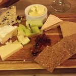 Tasty Local Cheese Selection