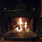 Warm Open Fire