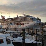 Cruise Ship Watching!