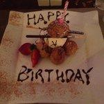 Birthday girls desert