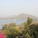 View of Fatehsagar lake
