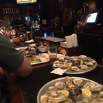 Fresh shucked oysters right in front of your eyes