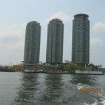 l'hotel visto dal fiume