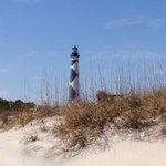 Cape Lookout, pack a lunch and ferry over. Beautiful island! Worth a trip. See wild horses and d