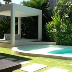 sunny day at villa Alice