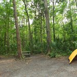 Tent camping area (site 82)