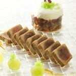 filet de thon albacoreau soja , emulsion  de concombre