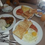 Breakfast at bintang warisan hotel