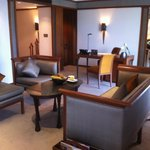 sitting area and working area of an Executive suite