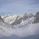 The beautiful mountains around St Anton
