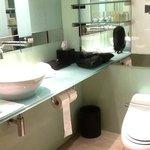 Salle de bains très petite