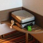La valise d'un Tripadviseur
