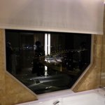 Automatic Sunshade in the bathroom