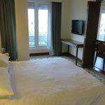 Bedroom of the suite