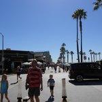 Boardwalk to venice beach