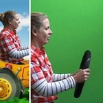 Acting in front of green screen + final Film with special effects around you!